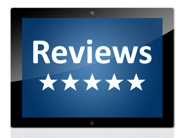 Can you provide tips on collecting patient reviews?