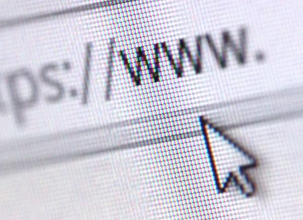 URL address with cursor
