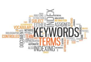 Word Cloud with Keywords related tags
