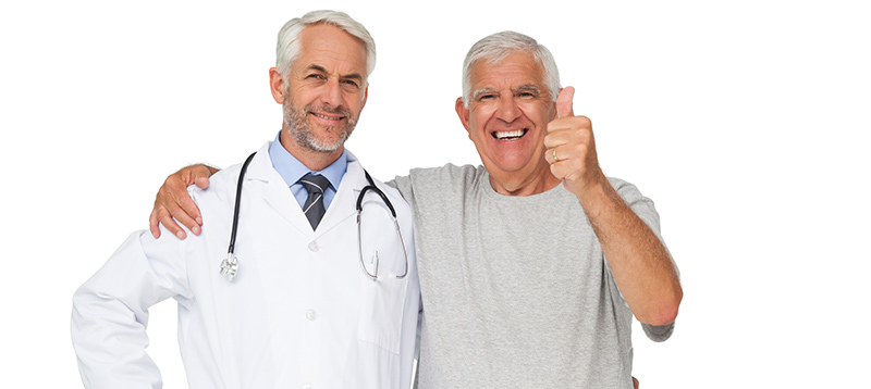 Happy patient and doctor. Improved patient experience.
