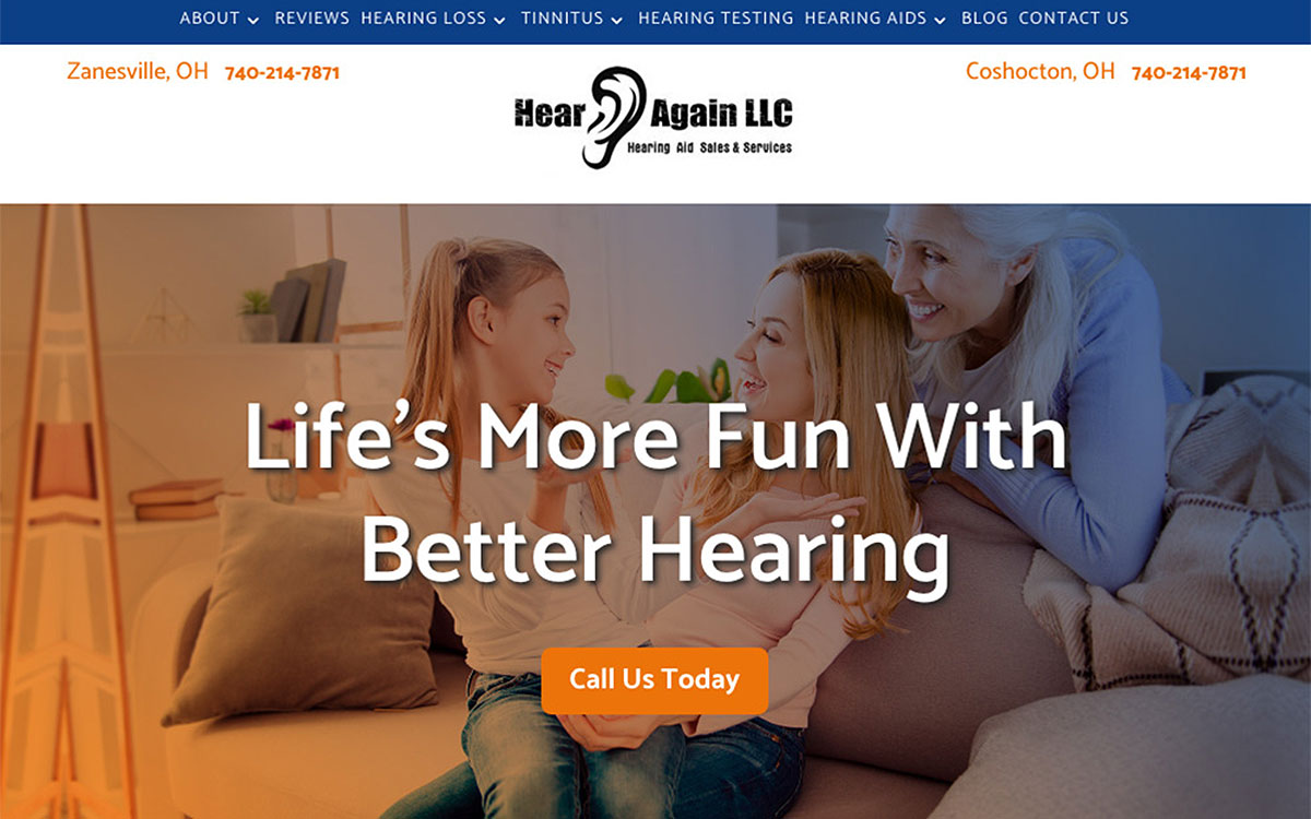 Audiology Website Designs That Attract New Patients